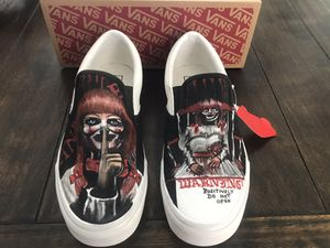 Customize Vans 9 for MEN and 10.5 for WOMEN for Sale in Houston, TX