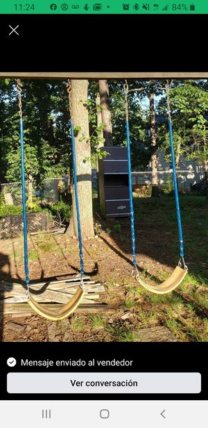 2 swings like new and 1 slide negotiable prices $ 85 for Sale in Stone Mountain, GA