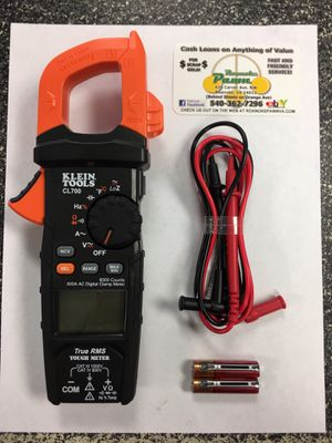 Klein: CL700 AC Auto Ranging 600 amp Digital Clam Meter - NEW! for Sale in Roanoke, VA