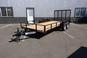 """Light Duty Tandem Axle Utility Trailer 77""""x16' (other sizes available) for Sale in Garden Grove, CA"""
