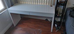 "55"" White Ikea Micke Desk for Sale in Westminster, CA"