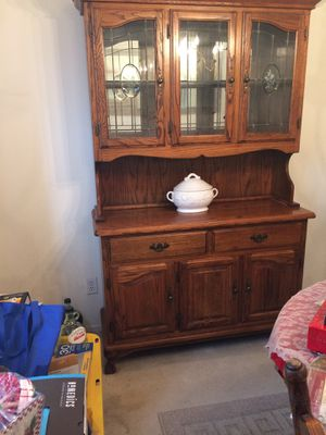 antique china cabinet for Sale in Fontana, CA