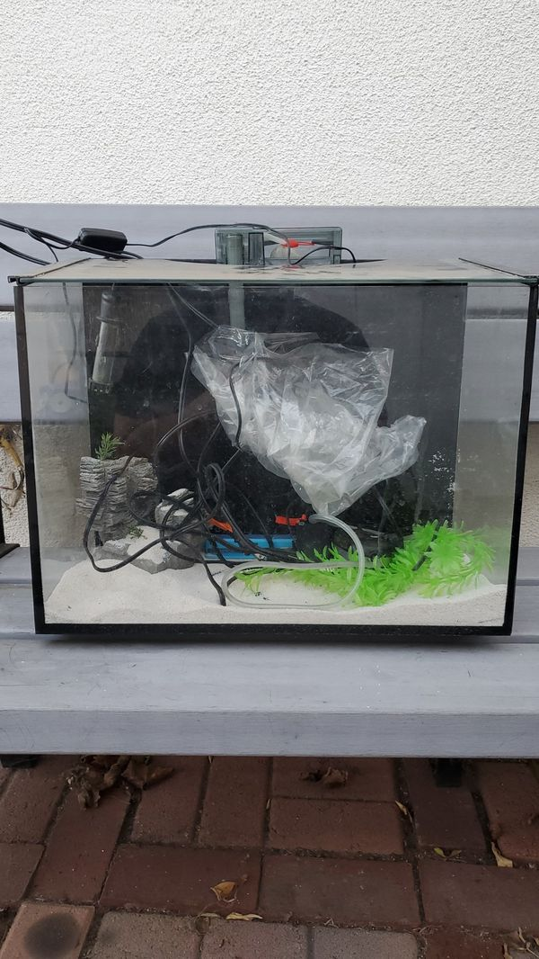 Fish thank *Aqueon Ascent Frameless LED Aquarium Kit, 10 Gallon *Plus FREE stuff *