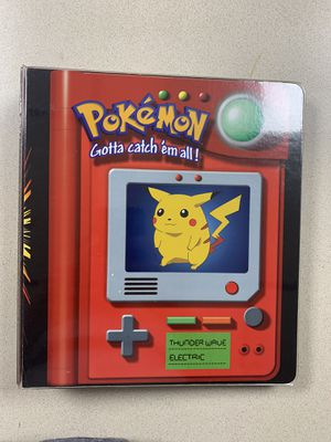 Pokemon Fighting & Fire Types Binder!! for Sale in Dearborn, MI