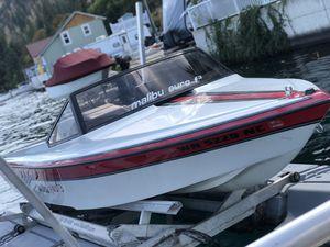 ** Malibu Euro F3 Ski Boat with Trailer *** for Sale in Bellevue, WA