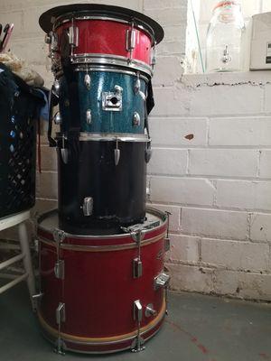 Vintage drums junker starter set Royce Norma sparkle finish for Sale in Cleveland, OH