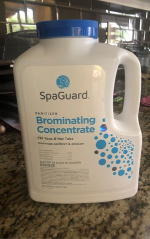 Free Hot Tub Spa Bromine Sanitizer for Sale in Carlsbad, CA