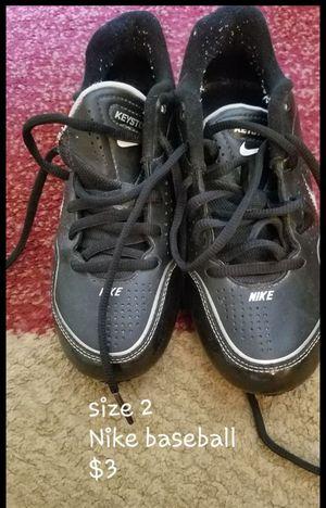 Youth baseball shoes, glove, bats, bag for Sale in Allen Park, MI