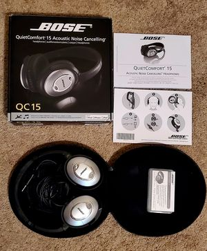 Bose QC15 Noise Cancelling Headphones for Sale in San Diego, CA