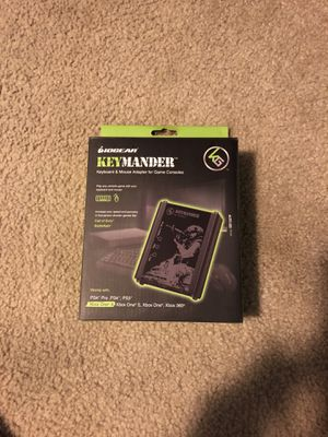Keymander Mouse and Keyboard adapter for consoles for Sale in Santa Monica, CA