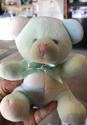 Baby bear rattle stuffed animal 50 cents for Sale in Menifee, CA