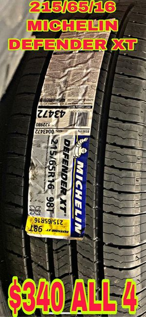215 65 16 BRAND NEW SET OF TIRES for Sale in Mesa, AZ