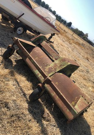 John Deere three point flail motor 3pt implement tractor 7 1/2 ft for Sale in Tracy, CA