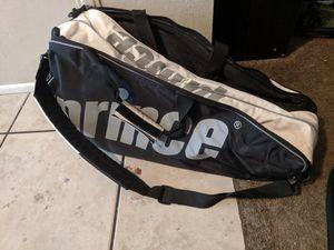 Tennis gear, prince tennis bag, practice balls, three rackets for Sale in Mesa, AZ