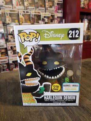 Funko Pop! Disney NBC Harlequin Demon Glow in the Dark for Sale in Fort Worth, TX