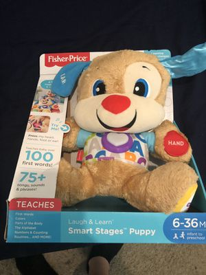 Fisher price Smart stage puppy for Sale in Stockton, CA