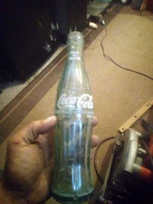Old cokecola bottle for Sale in Plantersville, AL