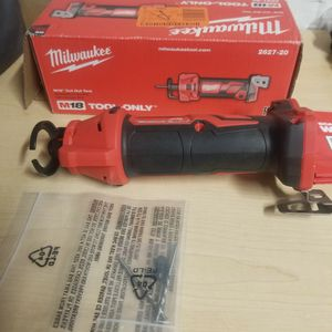 Milwaukee M18 18-Volt Lithium-Ion Cordless Drywall Cut Out Tool (Tool-Only) for Sale in Irving, TX