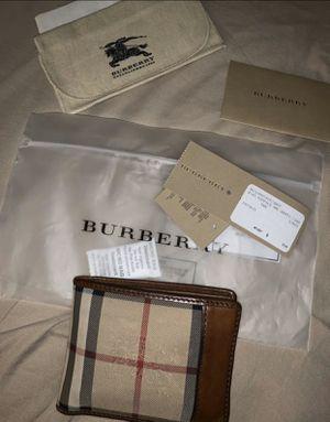BURBERRY mens wallet $200 for Sale in Winston-Salem, NC