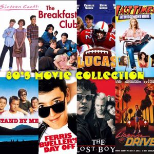 Ultimate 80's Movie Collection - 72 Classic Movies in HD for Sale in Los Angeles, CA