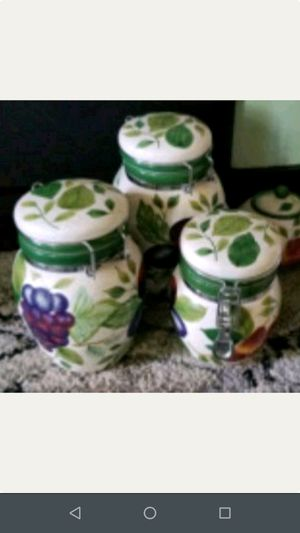 Canister set for kitchen for Sale in Leesburg, VA
