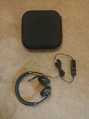 Plantronics Blackwire C720-M Binaural Corded USB Bluetooth Headset for Sale in San Jose, CA
