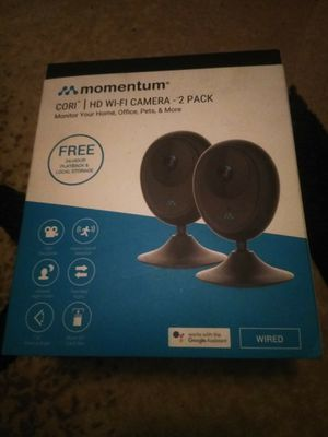 set of wifi indoor cameras w audible for Sale in Palmdale, CA