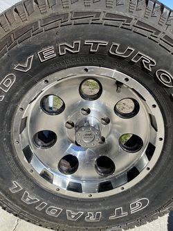 Lexury Wheels New Tires 31x10.5R15 for Sale in Haines City,  FL