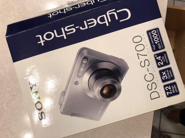 Brand new Sony Cybershot camera