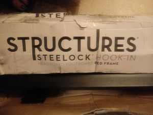 King size hook-in bed frame. for Sale in Fresno, CA