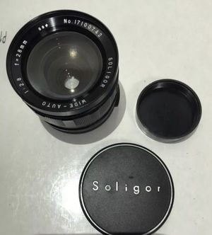 SOLIGOR LENS Wide-Auto f-28mm 1:2.8 - 58 for Sale in Brooklyn, NY