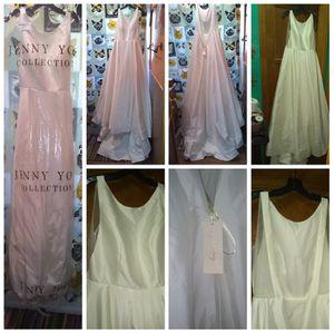Jenny Yoo size 6 wedding dress, dark ivory, New for Sale in Pomona, CA