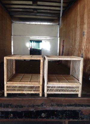 Wicker end tables for Sale in St. Louis, MO