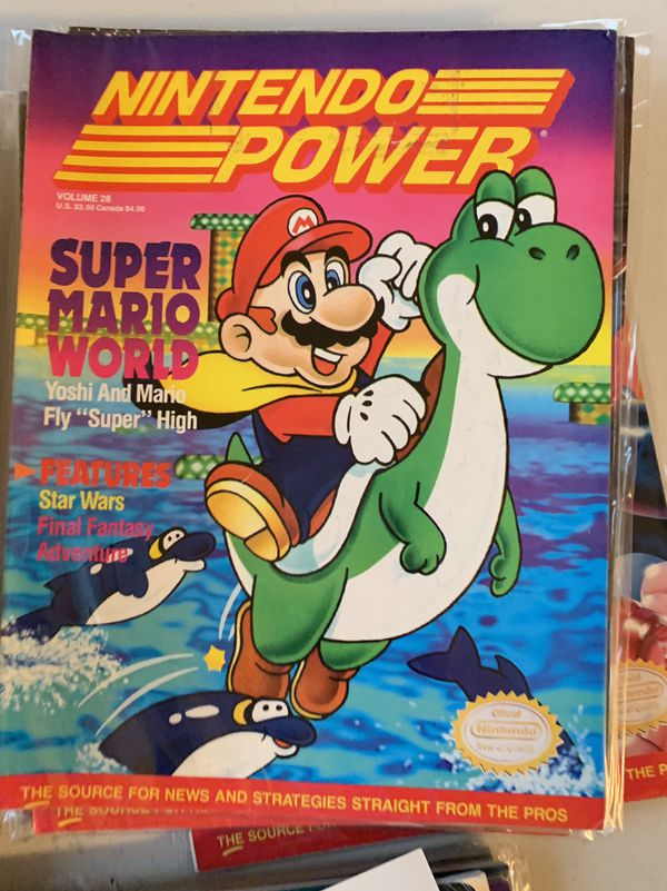 Nintendo Power Magazines Volume 3-41 38 issues great condition.