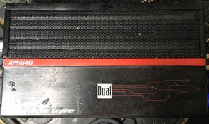 """Dual amp 15"""" Eclipse subwoofer for Sale in Henderson, KY"""