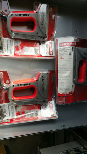 Craftsman staple/nail gun for Sale in Brecksville, OH