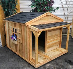 New Solid Wood XL Dog House for Sale in Bluffdale, UT