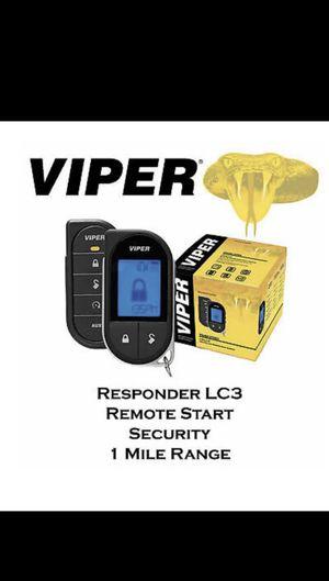 Car alarm security system remote start for Sale in Chula Vista, CA