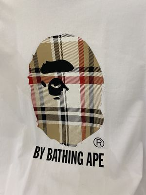 Bape check college tee for Sale in St. Charles, IL