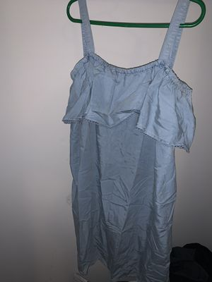 Blue ruffle dress for Sale in Spring, TX
