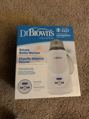 Brand New Dr Brown's Deluxe Bottle Warmer! Never used for Sale in Carson, CA
