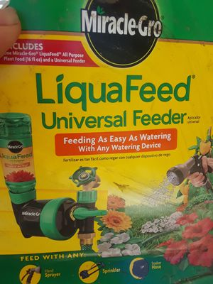 Liquefied, universal feeder $1 for Sale in San Bernardino, CA
