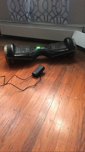 Bluetooth hoverboard lights up phone app voice control for Sale in PHILADELPHIA, PA