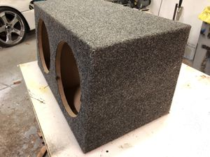 "Subwoofer Box for 2-10"" Speakers for Sale in Holladay, UT"