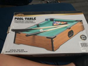 Mini pool table just like the real one for Sale in Fort Lauderdale, FL