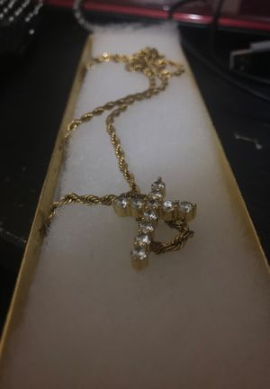 Gold chain, gold plated 14 k for Sale in Beaver, PA