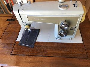 Sewing machine with table and chair - works perfect for Sale in Denver, CO