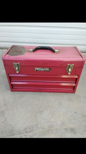 Promark red tool box for Sale in Fresno, CA