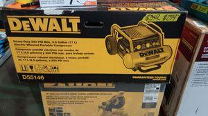 DeWalt heavy duty 4.5 gallon electric wheeled portable compressor for Sale in Phoenix, AZ