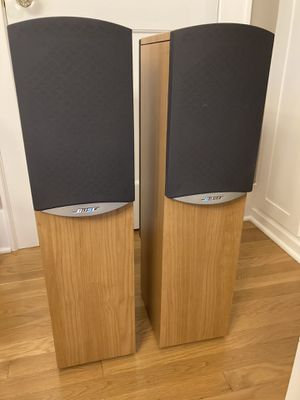 Bose 601 IV Floor Standing Speakers - Light Cherry for Sale in Seattle, WA